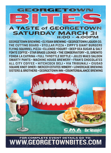 Georgetown Bites 2018 poster